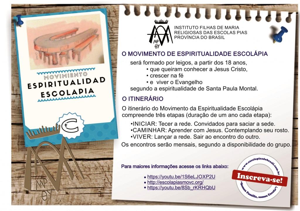 ESPIRITUALIDADE ESCOLAPIAS_CARTAZ