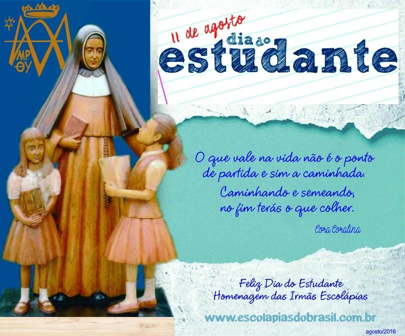 Colégio 11 De Agosto Dia Do Estudante: Escolápias Do Brasil